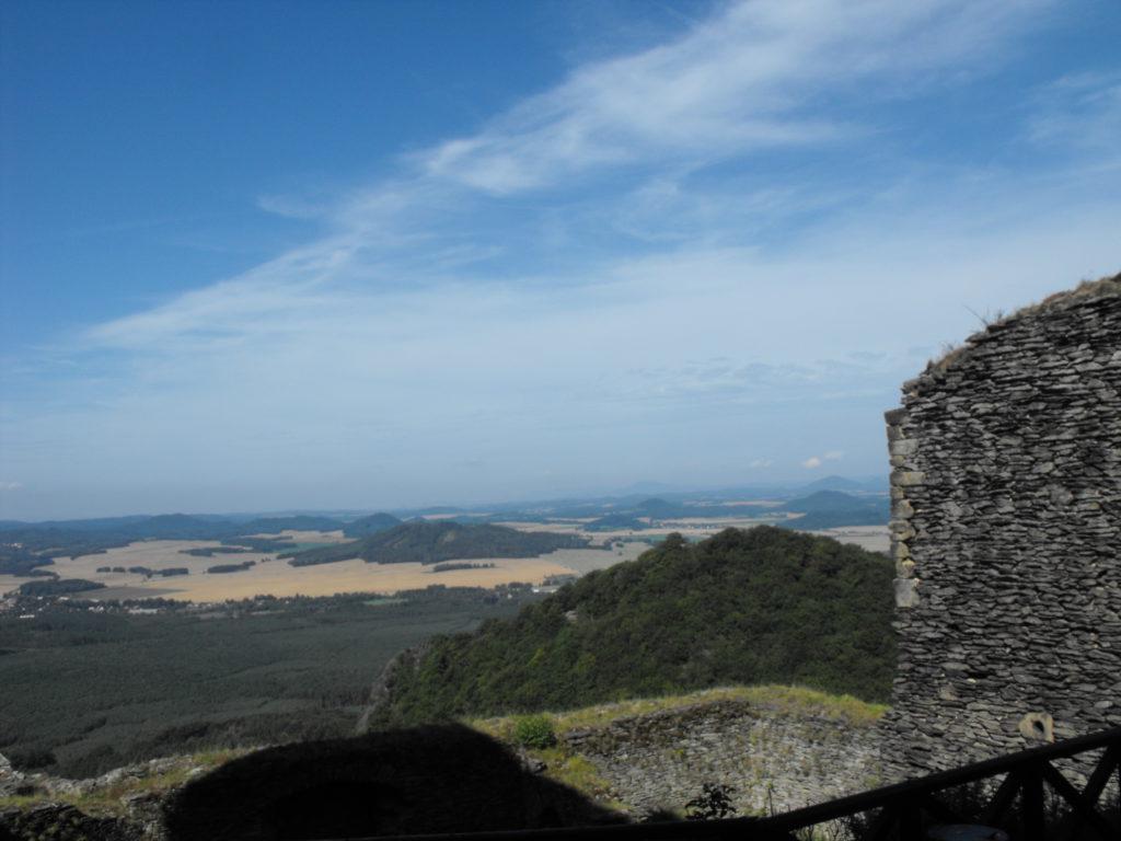 hrad Bezděz - výhled